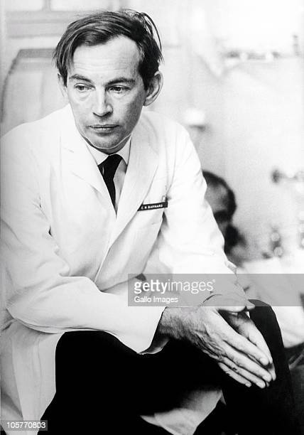 AFRICA Portrait of pioneering heart surgeon Christiaan Barnard taken in Cape Town South Africa on October 3 1969
