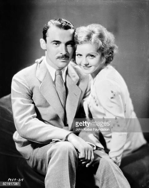 Portrait of playwright Jack Kirkland and actress Nancy Carroll for Paramount Studios 1929