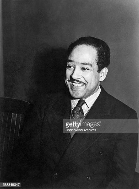Portrait of poet and playwright Langston Hughes, Chicago, Illinois, April 1942.