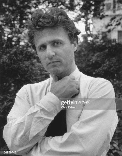 Portrait of poet photographer and actor Gerard Malanga New York New York 1985