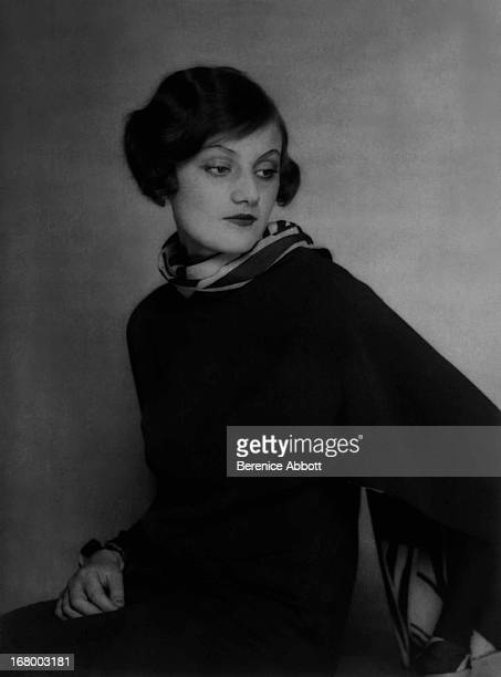Portrait of Polish model and actress Bronia Perlmutter 1926