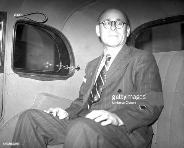 Portrait of politician and antifascim Umberto Terracini Rome 1947