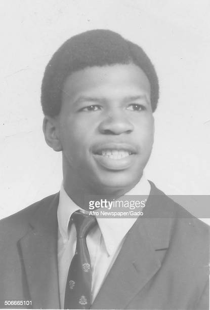 Portrait of politician and Maryland congressional representative Elijah Cummings 1973