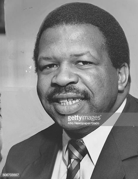 Portrait of politician and Maryland congressional representative Elijah Cummings 1994