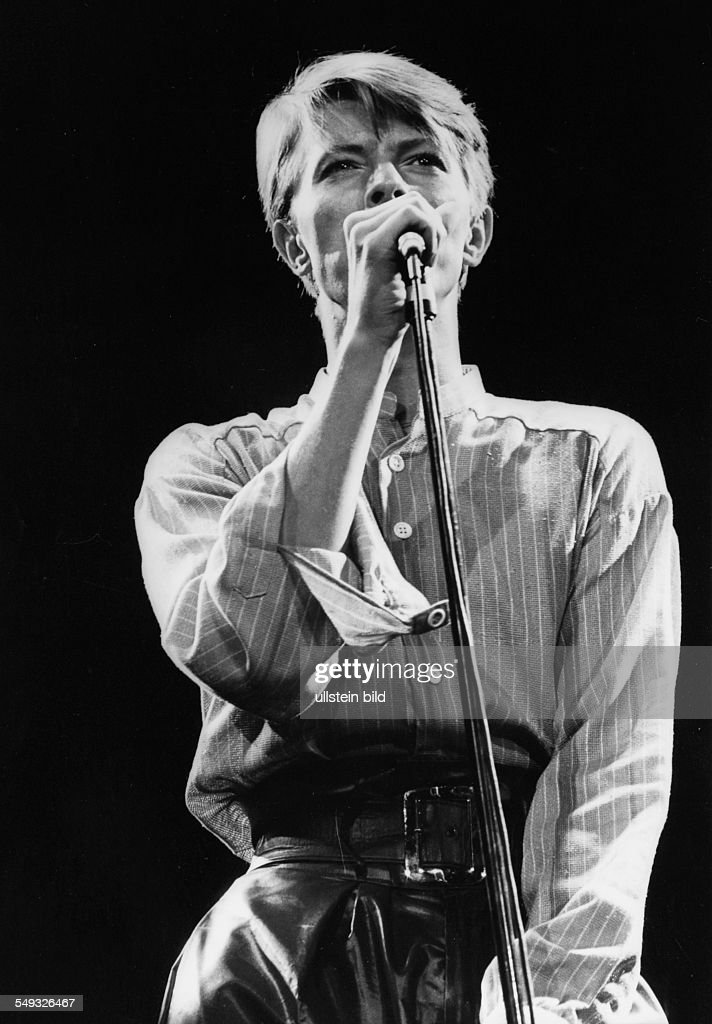 David Bowie : News Photo