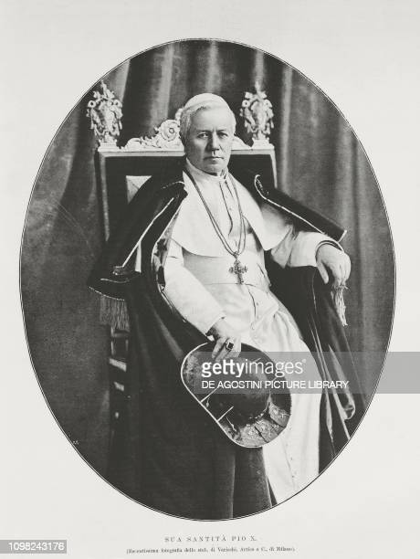 Portrait of Pope Pius X photo by Varischi