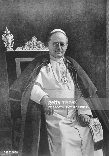 Portrait of Pope Pius XI 1922