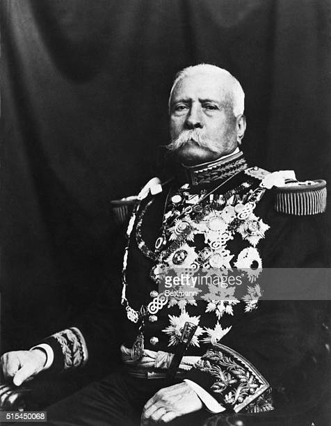 Portrait of Porfirio Diaz President of Mexico Undated photograph
