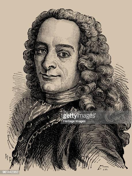 Portrait of Porträt von Francois Marie Arouet de Voltaire 1889 Private Collection