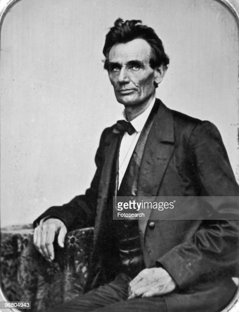 Portrait of President Abraham Lincoln circa 1860s