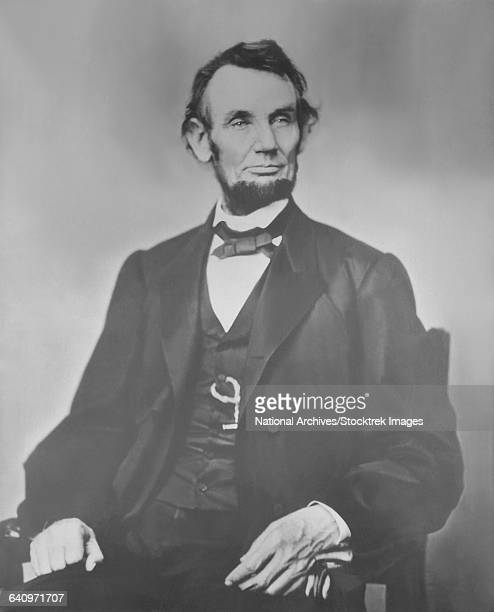 Portrait of President Abraham Lincoln.