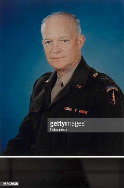Portrait of President Dwight Eisenhower circa 1960s