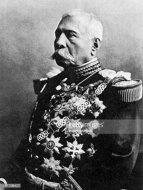 Portrait of President Porfirio Diaz Mexican statesman and soldier who served as president on nonconsecutive terms early twentieth century