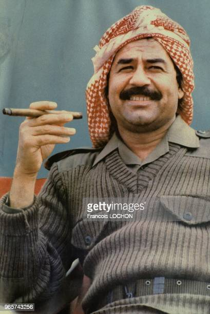 Portrait Of President Saddam Hussein July 31 1983