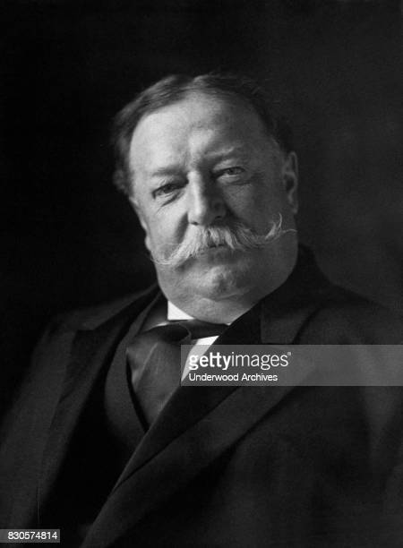 A portrait of President William Howard Taft one week after his inauguration Washington DC March 11 1909