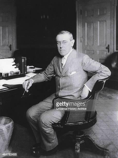 Portrait of President Woodrow Wilson 1912