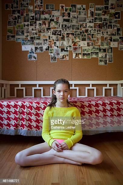 Portrait of Pre-Teen Beauty