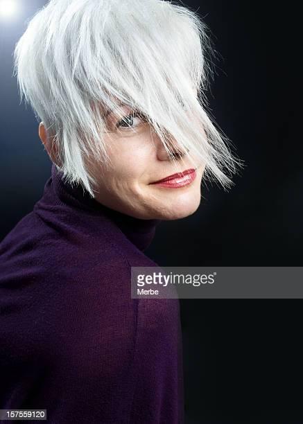 Porträt von hübschen Frau
