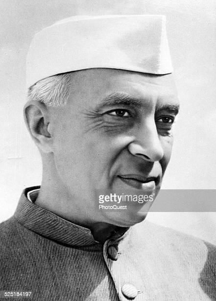 Portrait of Prime Minister of India Jawaharlal Nehru 1961