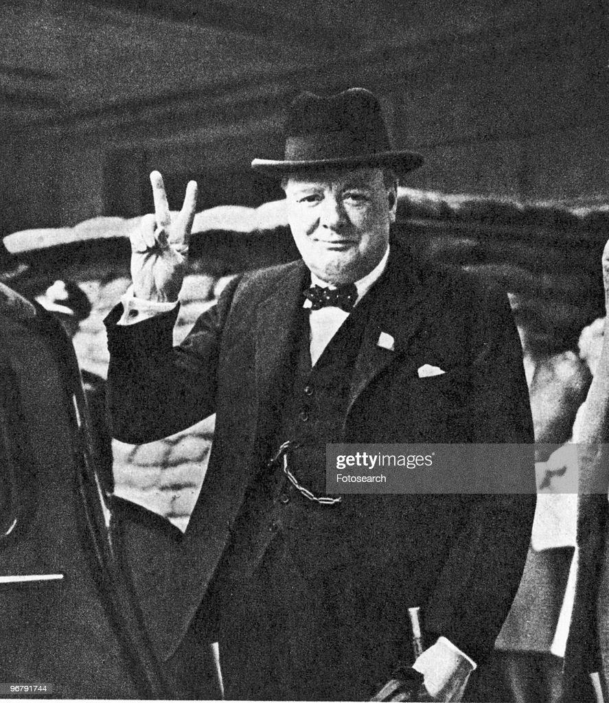 Winston Churchill : News Photo