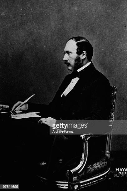 Portrait of Prince Albert husband of Queen Victoria ca1850s