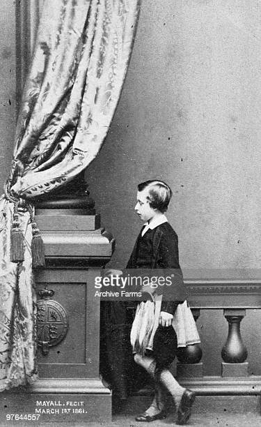 Portrait of Prince Arthur the third son of Queen Victoria