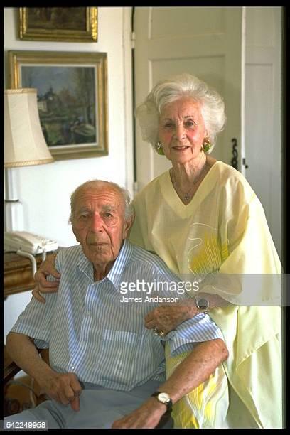 Portrait of Prince Bertil and Princess Lilian of Sweden.