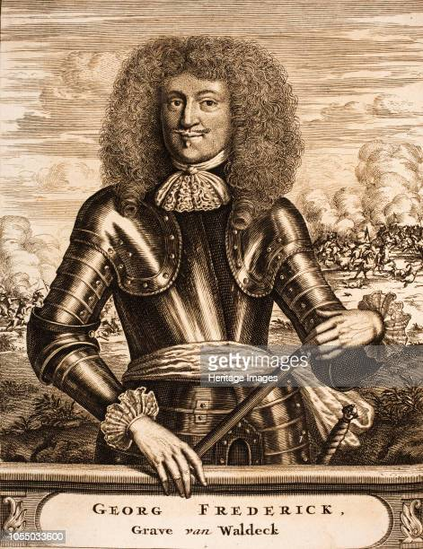 Portrait of Prince Georg Friedrich of Waldeck 1675 Found in the Collection of Bibliotheek van het Vredespaleis The Hague Artist Anonymous