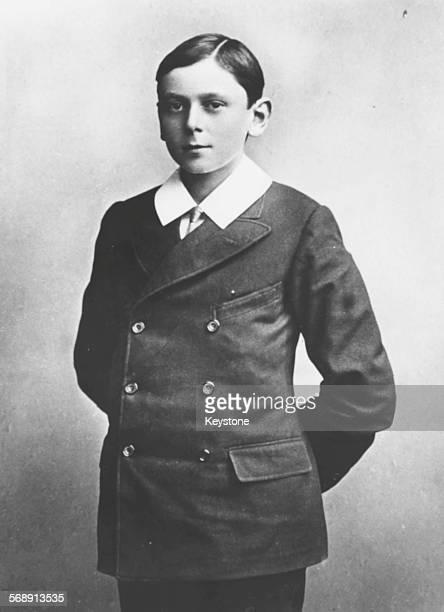 Portrait of Prince Maurice of Battenberg third son of Princess Beatrice circa 1904