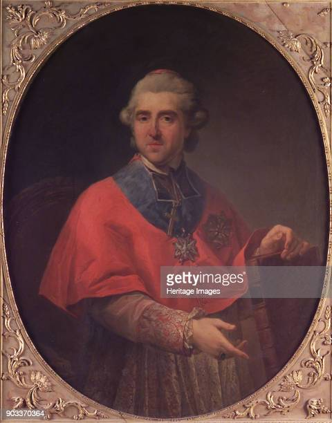 Portrait of Prince Michal Jerzy Poniatowski Primate of Poland Found in the Collection of Accademia di San Luca