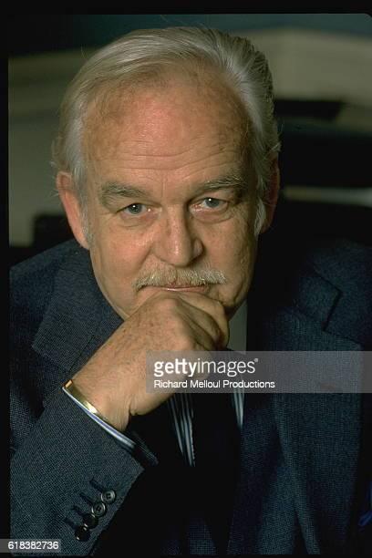 Portrait of Prince Rainier of Monaco.