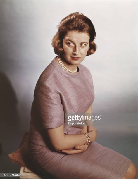 Portrait of Princess Alexandra, daughter of Prince George, Duke of Kent and cousin of Queen Elizabeth II, in 1961.