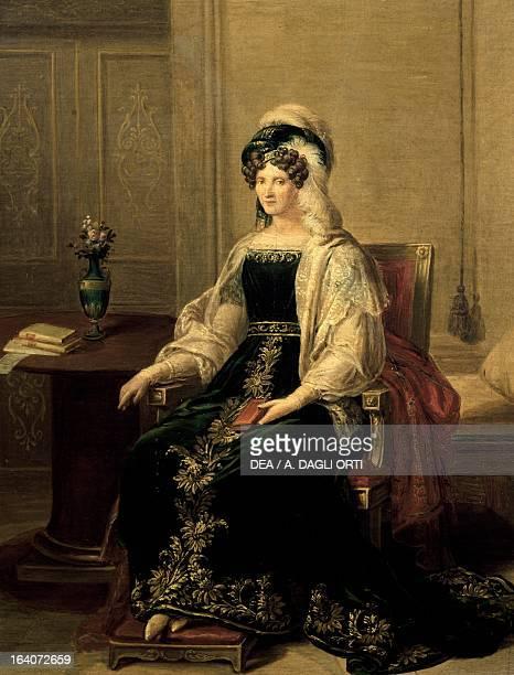 Portrait of Princess Marianne of Saxony wife of Prince Paluzzo Altieri painting by Giacomo Conca Roma Museo Di Roma Gabinetto Comunale Delle Stampe