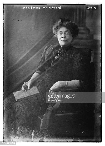 Portrait of Principal of Tuskegee Normal and Industrial Institute Margaret James Murray Washington circa 1910 She was also the third wife of Booker T...