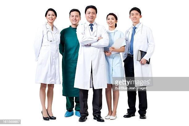 Portrait of professional medical team