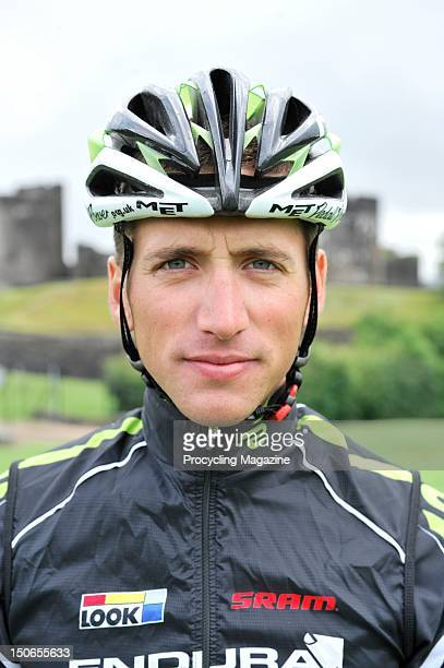 Portrait of professional road racing cyclist Rob Partridge taken on July 8, 2011.