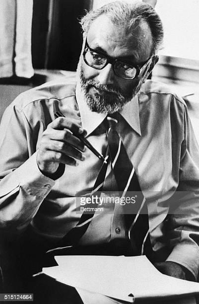 Portrait of professor Abdus Salam, British joint-winner of the 1979 Nobel Prize for physics. Undated photograph.