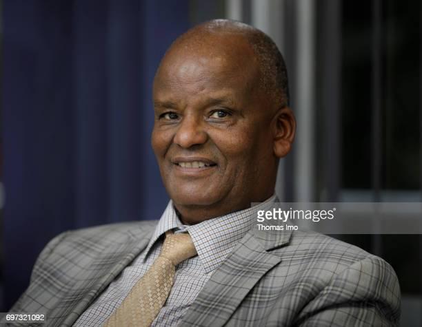 Portrait of Professor Jesse Njoka African Drylands Institute for Sustainability University of Nairobi on May 15 2017 in Nairobi Kenya