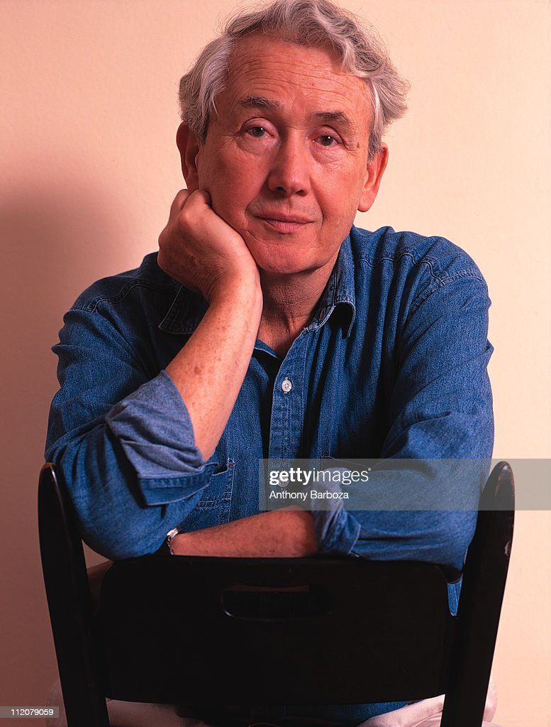 Portrait of Pulitzer Prize winning writer Frank McCourt, author of 'Angela's Ashes', in New York, 1996.