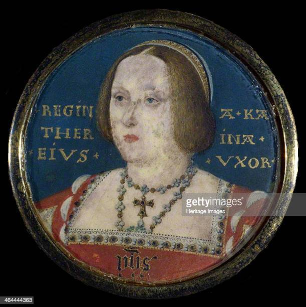 Portrait of Queen Catherine of Aragon c 1525 From a private collection