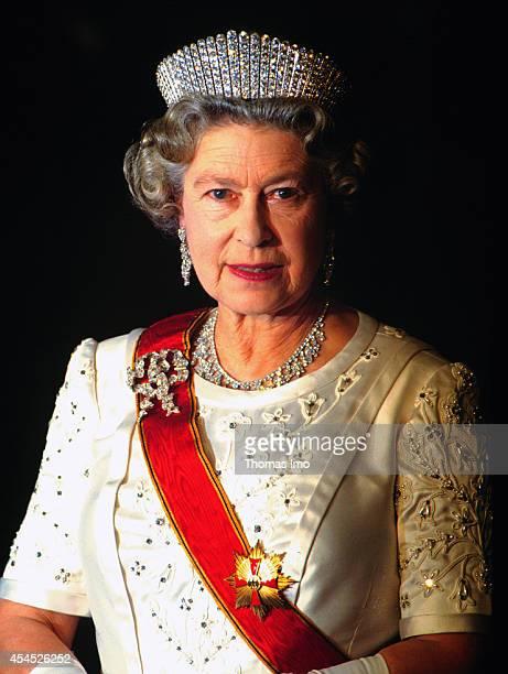 Portrait of Queen Elizabeth II on June 01 in Bonn Germany Elizabeth II