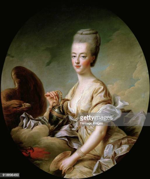 Portrait of Queen Marie Antoinette als Hebe 1773 Found in the collection of Musée Condé Chantilly