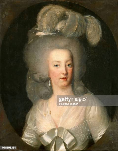 Portrait of Queen Marie Antoinette of France 1780s Found in the collection of Musée du Louvre Paris