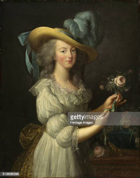 Portrait of Queen Marie Antoinette of France after 1783 Private Collection