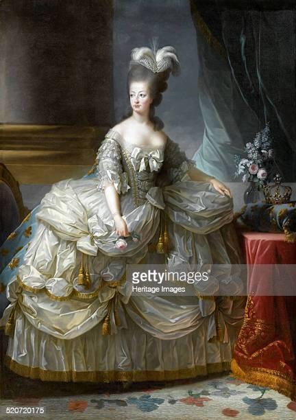 Portrait of Queen Marie Antoinette of France Found in the collection of Musée de l'Histoire de France Château de Versailles