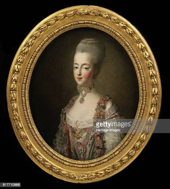 Portrait of Queen Marie Antoinette of France Found in the Collection of Victoria and Albert Museum