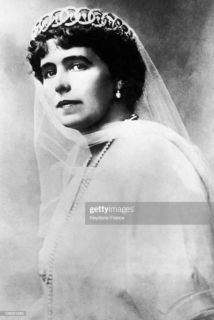 Marie Of Romania Around 1918 : News Photo