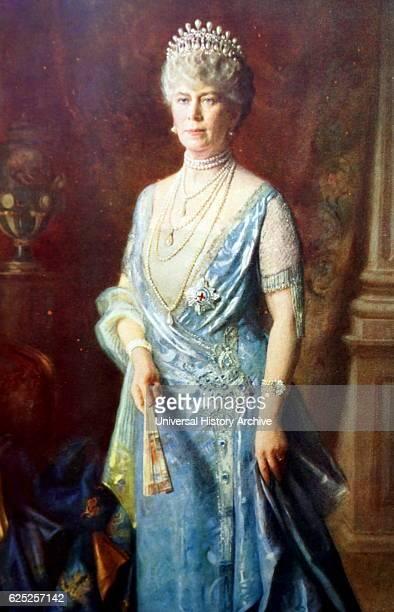 Portrait of Queen Mary of Teck Queen Consort Dated 20th Century