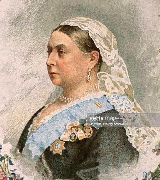 Portrait of Queen Victoria for her Golden Jubilee in 1887 Older