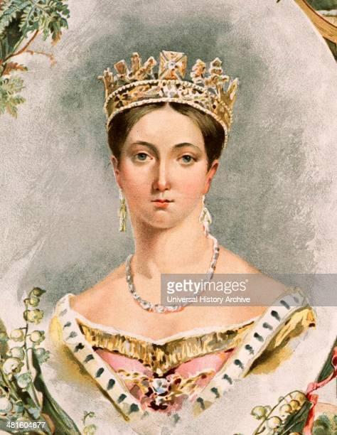Portrait of Queen Victoria for her Golden Jubilee in 1887 Younger